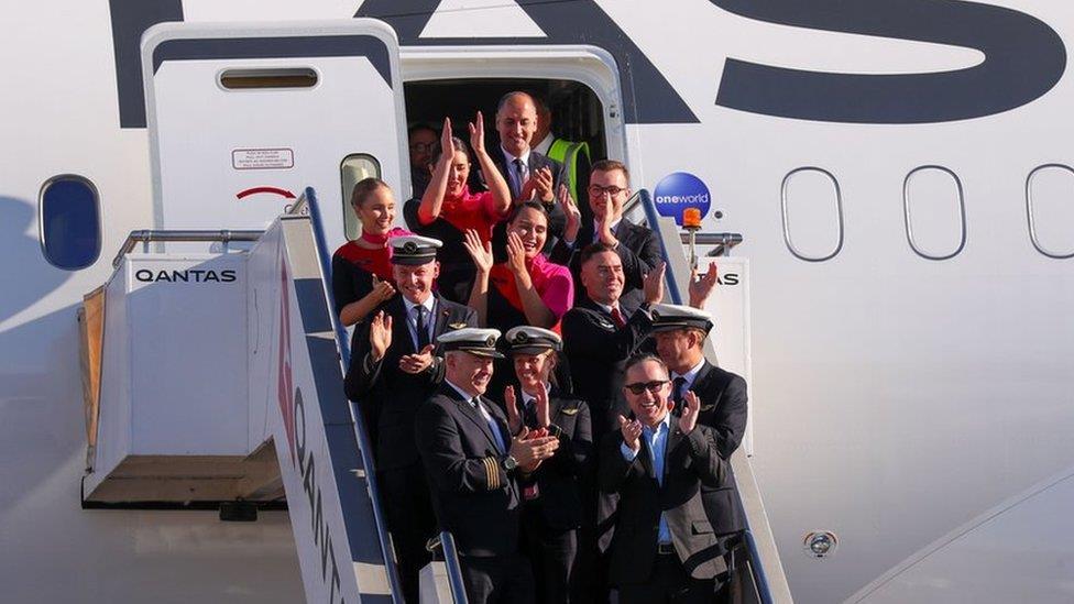 澳洲航空公司測試最長民航直飛航線
