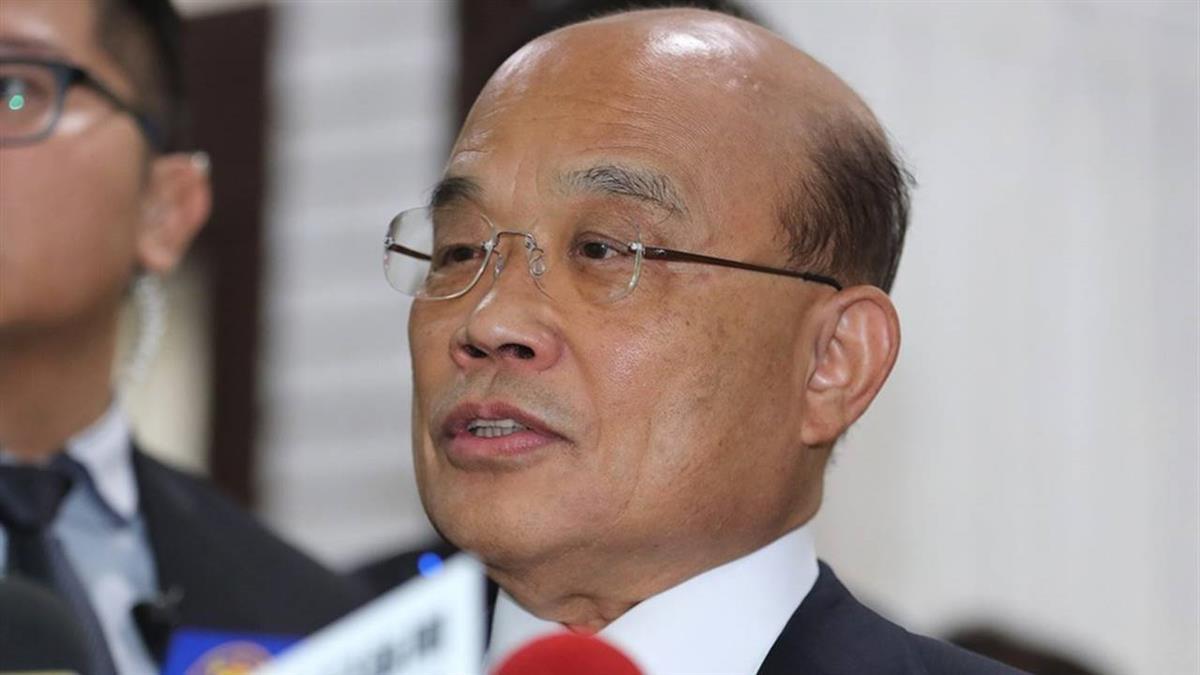 蘇揆:林鄭背後是中國 陳同佳來台投案不符常情