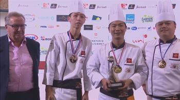 3連霸差一步!台灣隊世界麵包大賽奪亞軍