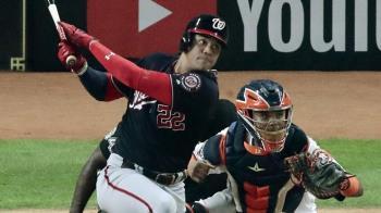 MLB/蘇鐸砲轟柯爾!國民5比4擊敗太空人奪首勝