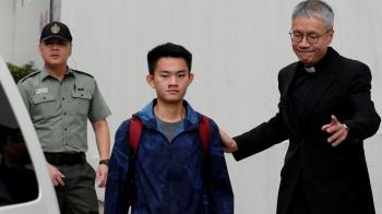 陳同佳案:香港逃犯條例爭議關鍵人物出獄道歉 未知何時赴台自首