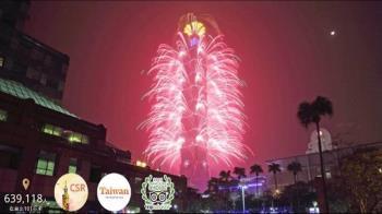 力與美的視覺饗宴!2020年台北101跨年煙火再升級