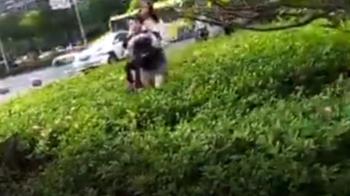 他當街遭拒…惱羞開車亂撞 女駕駛英勇救童
