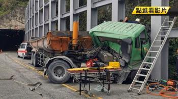 蘇花砂石車自撞山壁 52歲駕駛左小腿截肢亡
