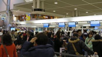 雨彈狂襲!日本水庫急放水 成田機場航班轉降