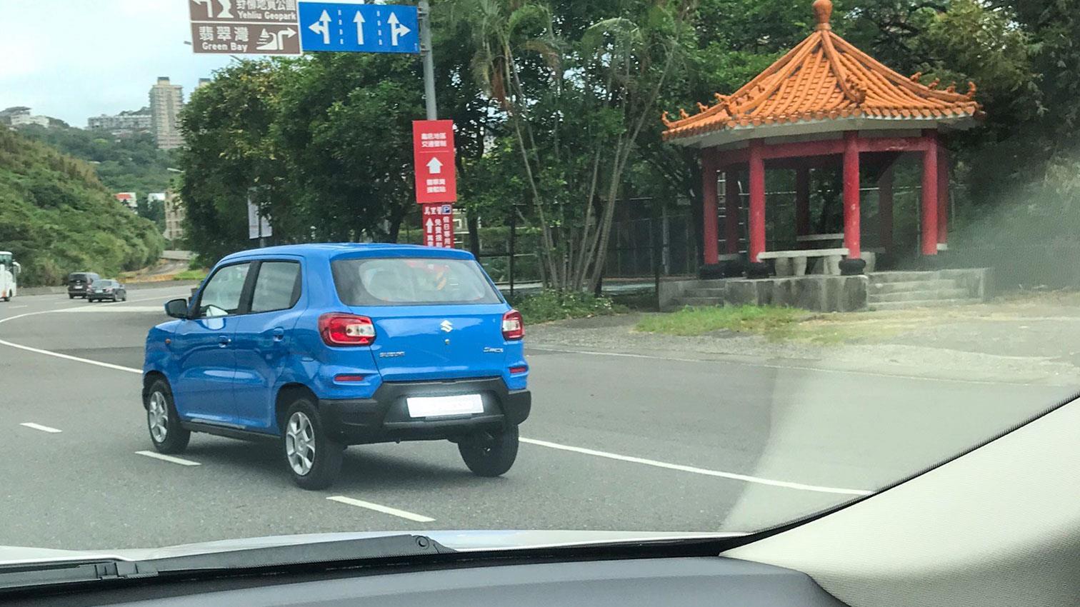 Suzuki 要推全新小休旅?S-Presso 台灣道路捕獲