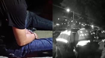 拒檢加速逃欲衝撞 警開4槍飛車追逐逮人