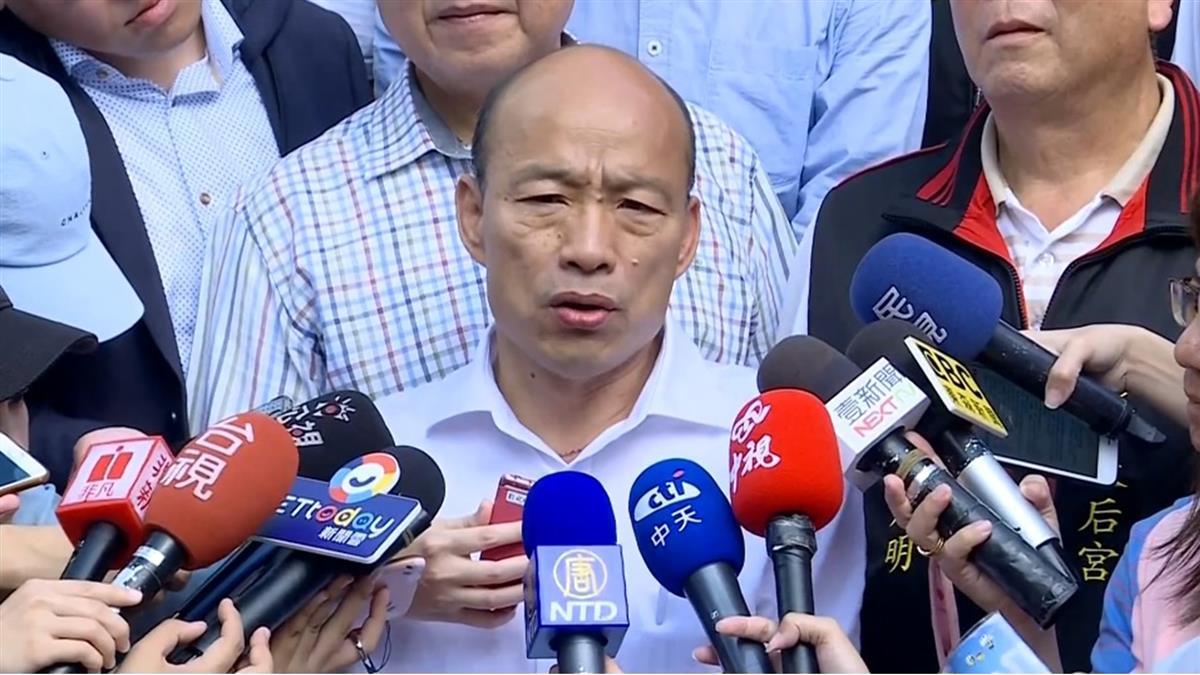 韓國瑜澎湖傾聽…15歲弟賭爛摀耳嗆:此生不支持