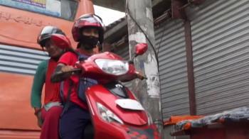 這批女騎士如何保障孟加拉的女乘客?