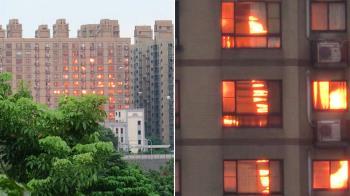 清晨5點…對面大樓陷火海?驚人真相曝