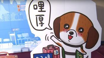 電信推超萌米格魯貼圖 神犬防疫護台灣