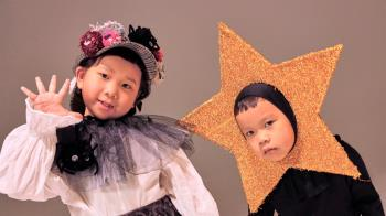 6歲萌娃偕4歲妹合唱!引領萬聖節舞曲風潮