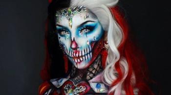 萬聖節的化妝業:幾個憑魔幻妝容走紅的女性