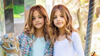 全球最美雙胞胎!高顏值狂吸百萬粉 辣媽長相曝光