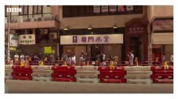 香港示威:撐警餐廳老闆毋懼杯葛 「市民湧過來支持我」
