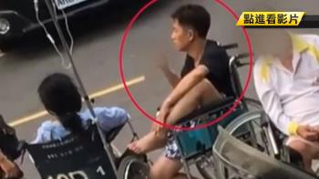 手腳斷了?坐輪椅翹腳抽菸曝 吳小哲變臉喊告