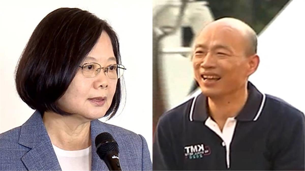 韓國瑜轟操控媒體 蔡英文酸:若有他就不會當市長