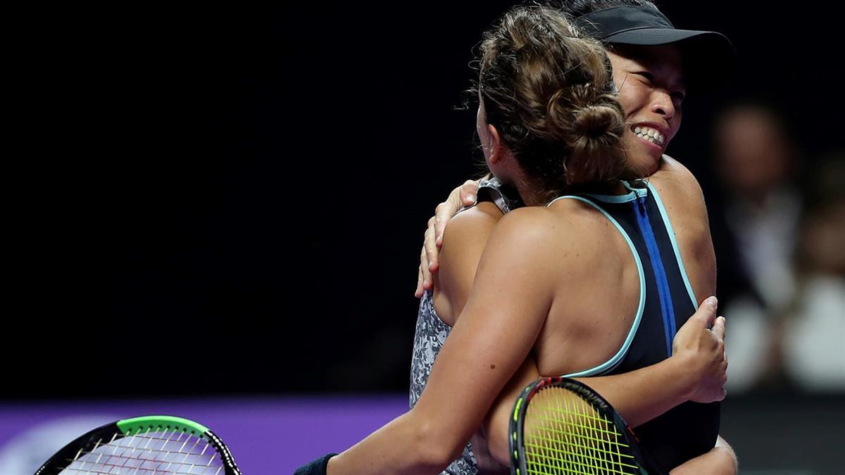 謝淑薇女雙56分速戰!挺進WTA年終賽決賽