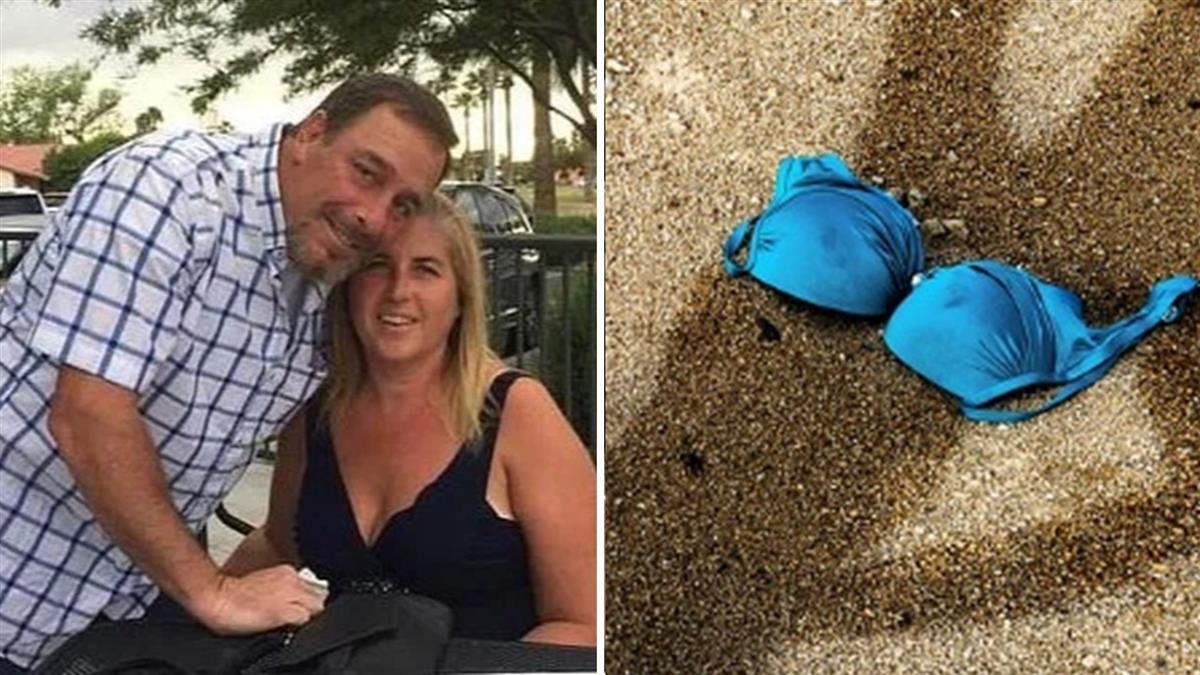 沙灘上有胸罩!他一挖…驚揭夫婦雙屍命案