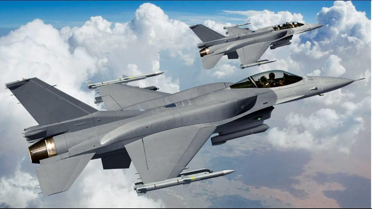 F-16V將壓制共機? 裝新型飛彈有望增2~3倍載彈量