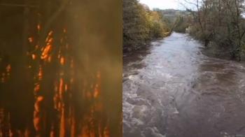 極端氣候南北半球發威!澳州野火燒、英國慘淹水