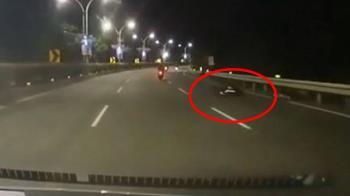 淡水女騎士遭輾斃拖行20公尺!司機竟肇事逃逸