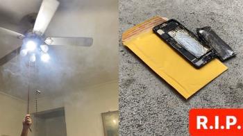 理工男DIY換iPhone電池!手機突起火冒煙…結局慘了