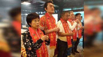 前北韓特首現身姜太公道場 點七星燈祈福