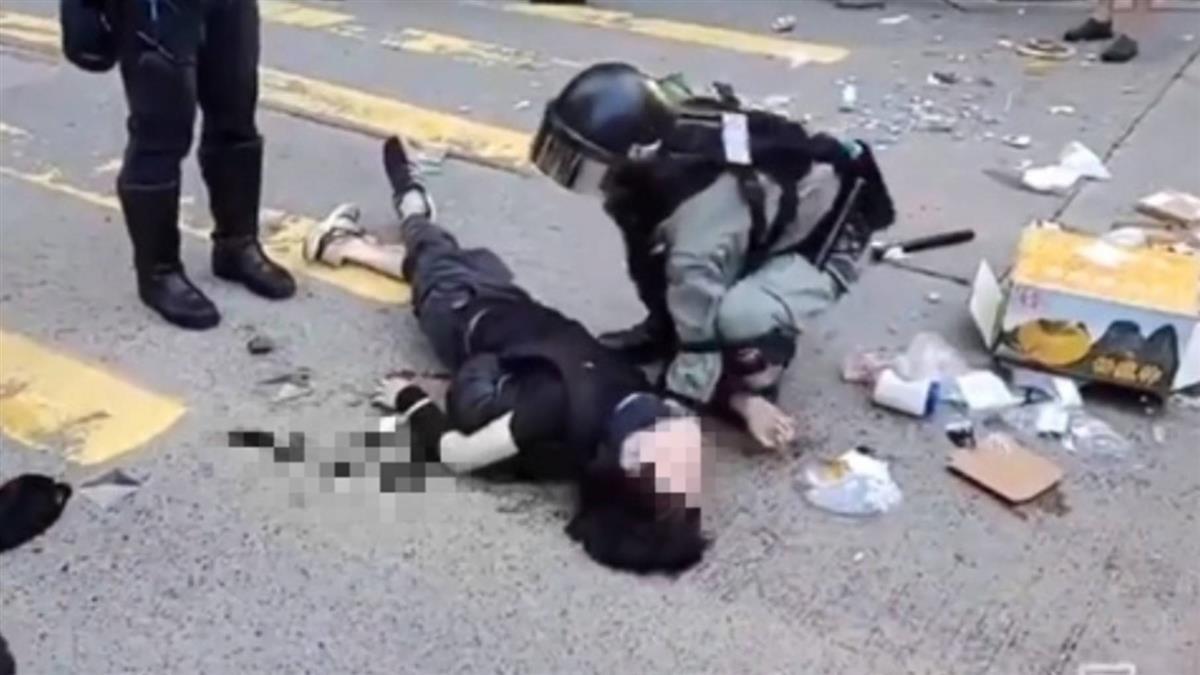 香港三罷抗爭!男胸口中彈濺血 目擊者還原過程