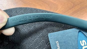 海廢再製夾腳拖 紐西蘭兄弟掛保證 :100%台灣製