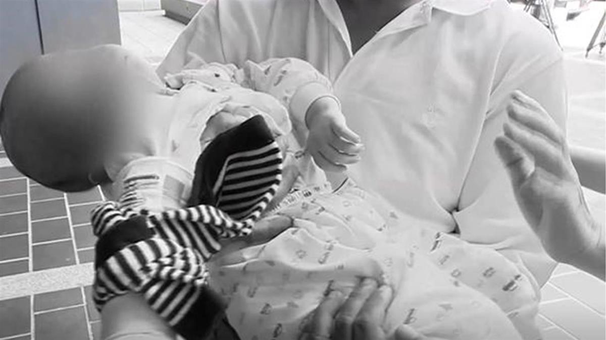 1歲女童遭保母重摔癱瘓眼盲 母首抱女出庭