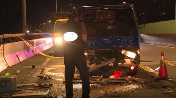 疑睡眠不足上路! 小貨車衝撞修橋工人 釀1死