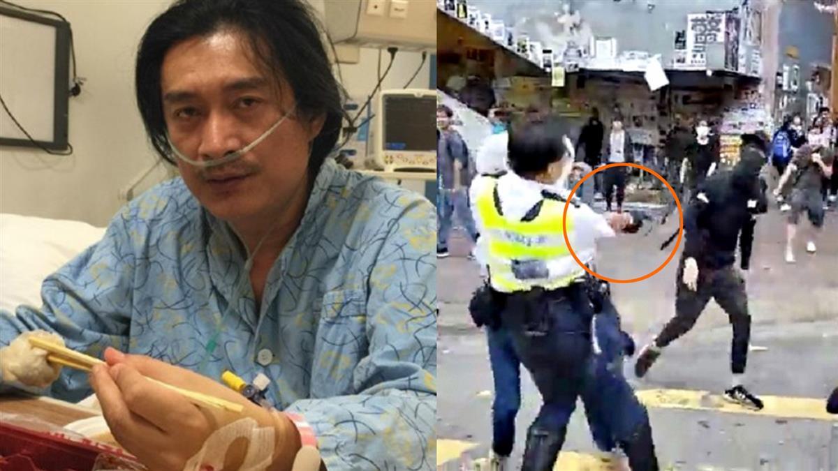 沒死!示威者遭港警開槍重傷 黃安竟嗆:打偏了