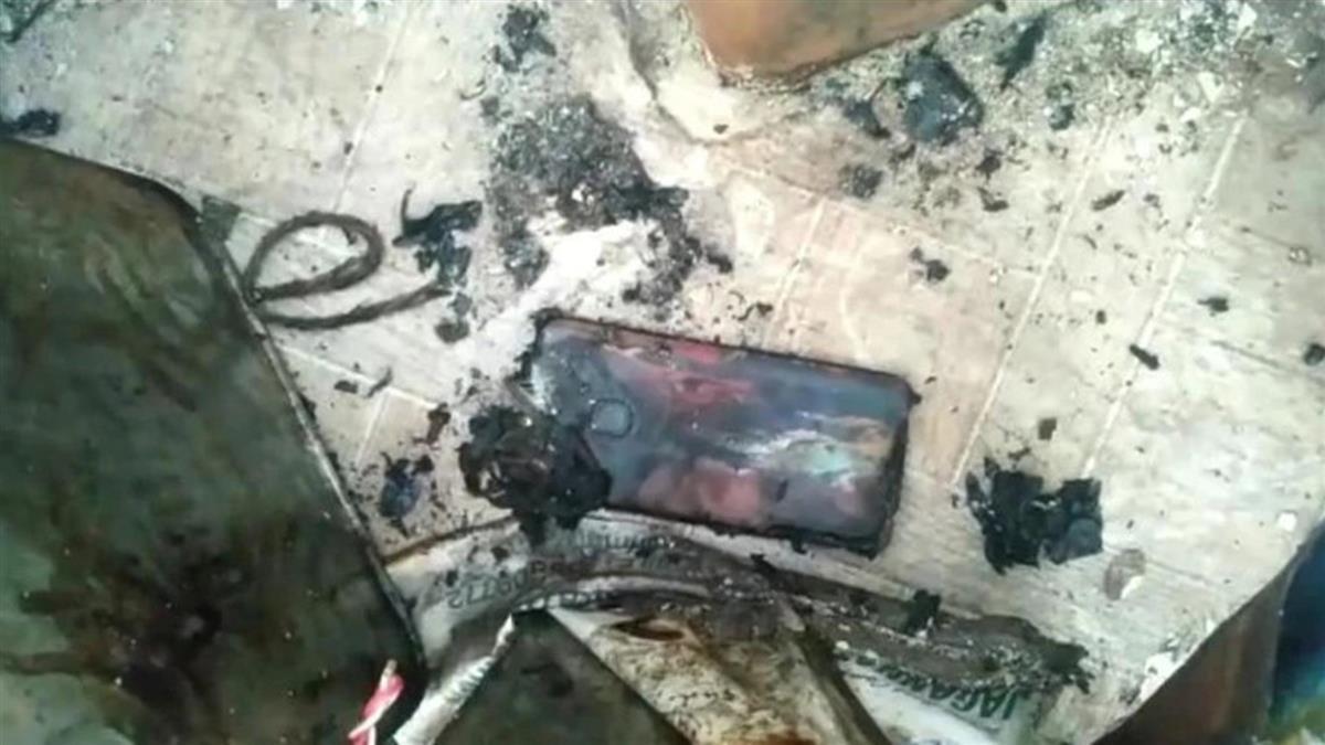 手機充電突爆炸!22歲工地男當場燒焦慘死