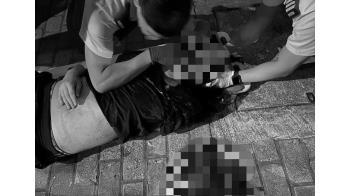 示威持續!黑衣男墜樓慘死…15歲少年遭射頭命危