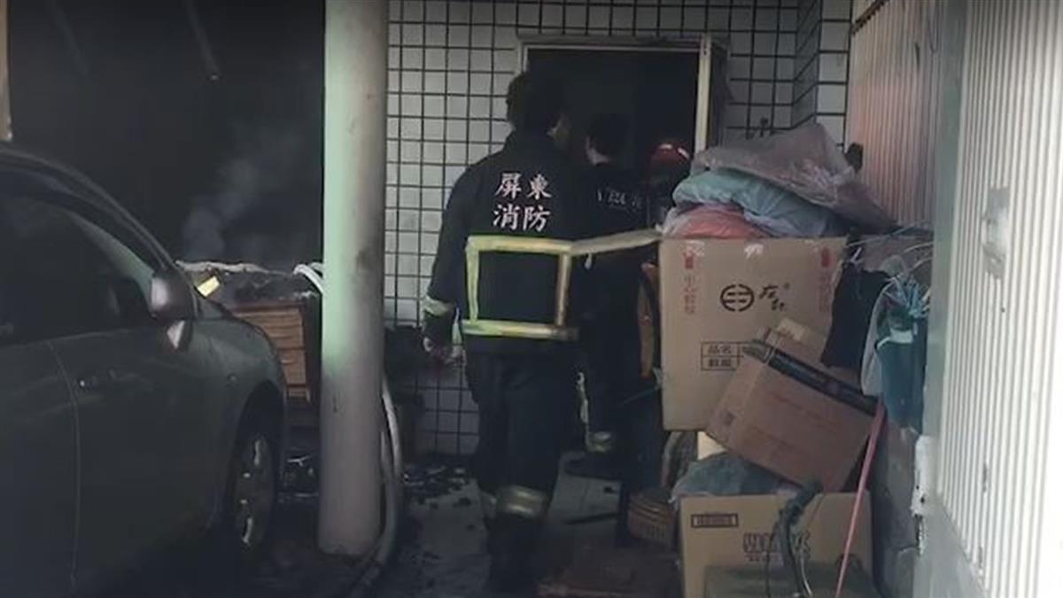 屏東民宅大火!一家六口被救出 4人無生命跡象