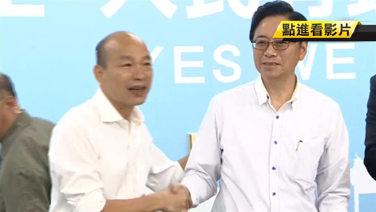 張善政切割不分區 韓緩頰:他對政黨政治不熟