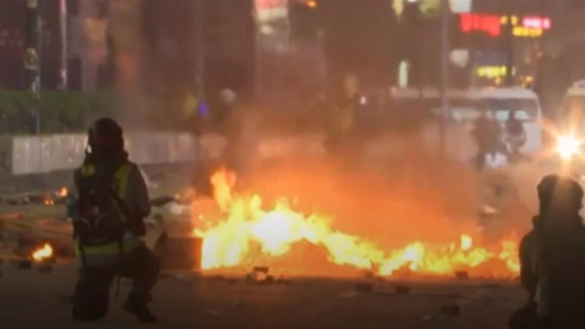 香港多處成戰場 習近平:止暴制亂、恢復秩序最緊迫