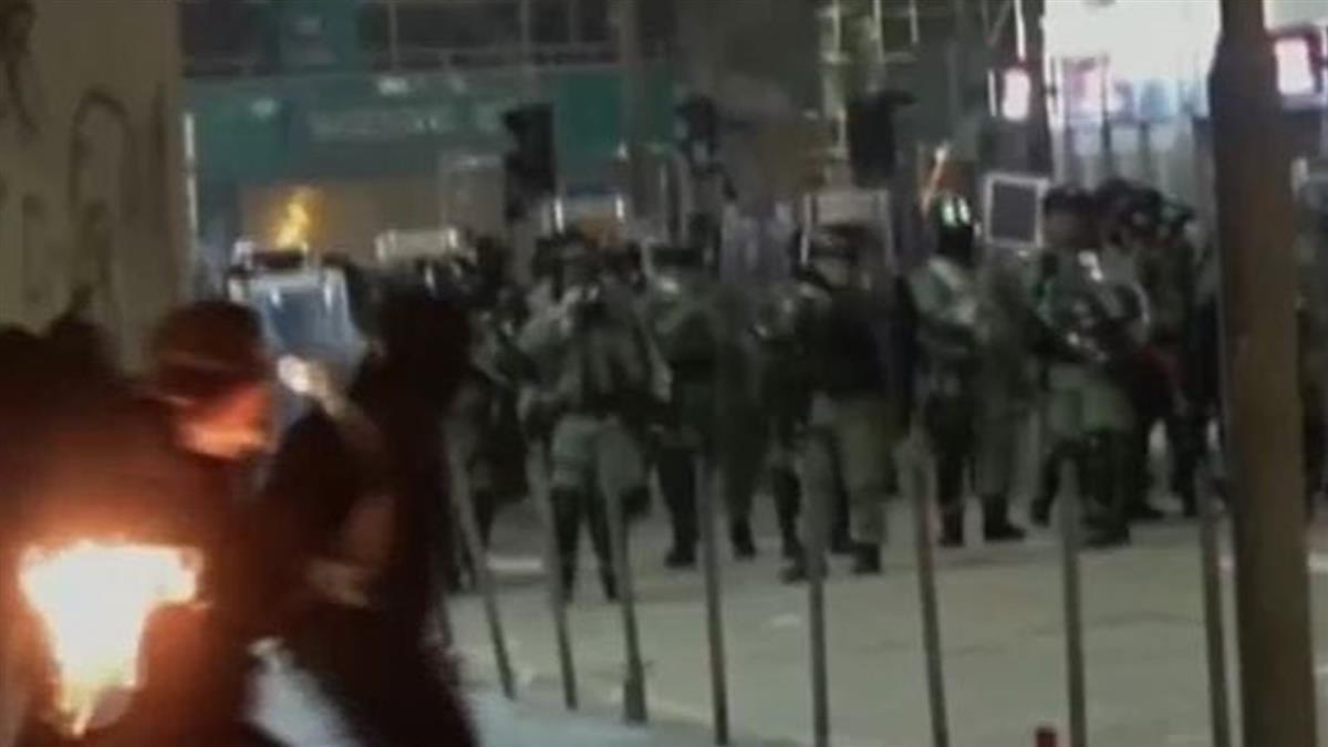 香港多處衝突濺血 上水多人圍毆落單女子