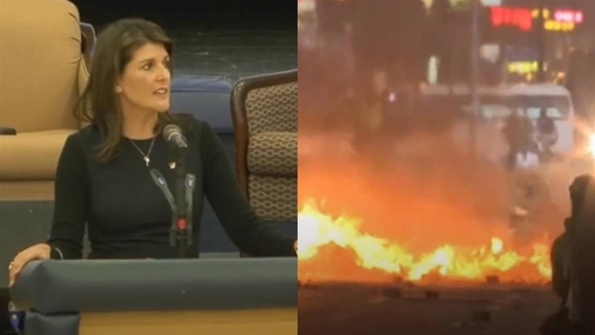 美前駐UN大使:港若倒 台灣淪為下一個