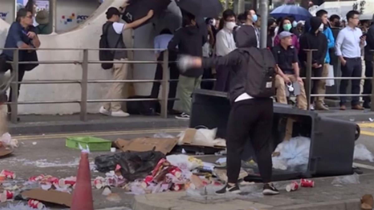 港示威者再癱瘓公路 9大學校長聯合聲明
