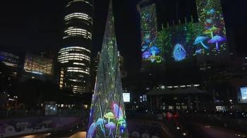 新北耶誕城首用「一樹雙塔」 一路到明年元旦