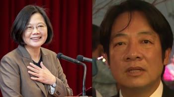 英德配形成!蔡英文:一起守護台灣、贏得勝利