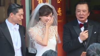 崩潰!林爸對女婿說這句話 林志玲爆哭說話了