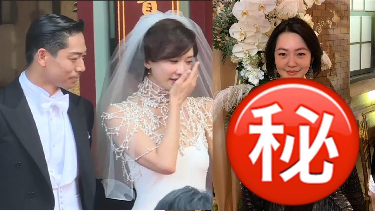 搶志玲風采?小S婚禮這樣穿 一句話嗆爆新娘