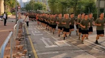 解放軍首現香港街頭「自發」清障與習近平的公開表態