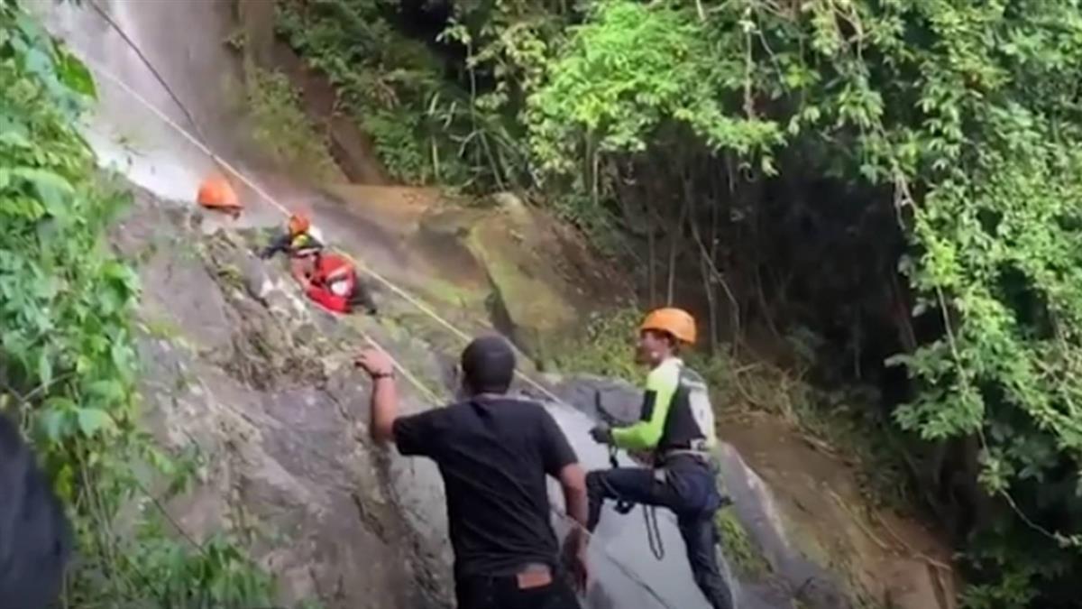 今年第二起!男硬要自拍 失足墜80m瀑布爆頭亡