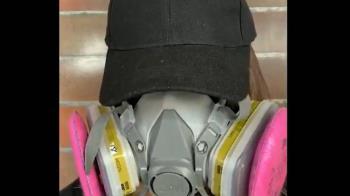 90秒求援 港理大女生:斷水斷食只剩防毒面具