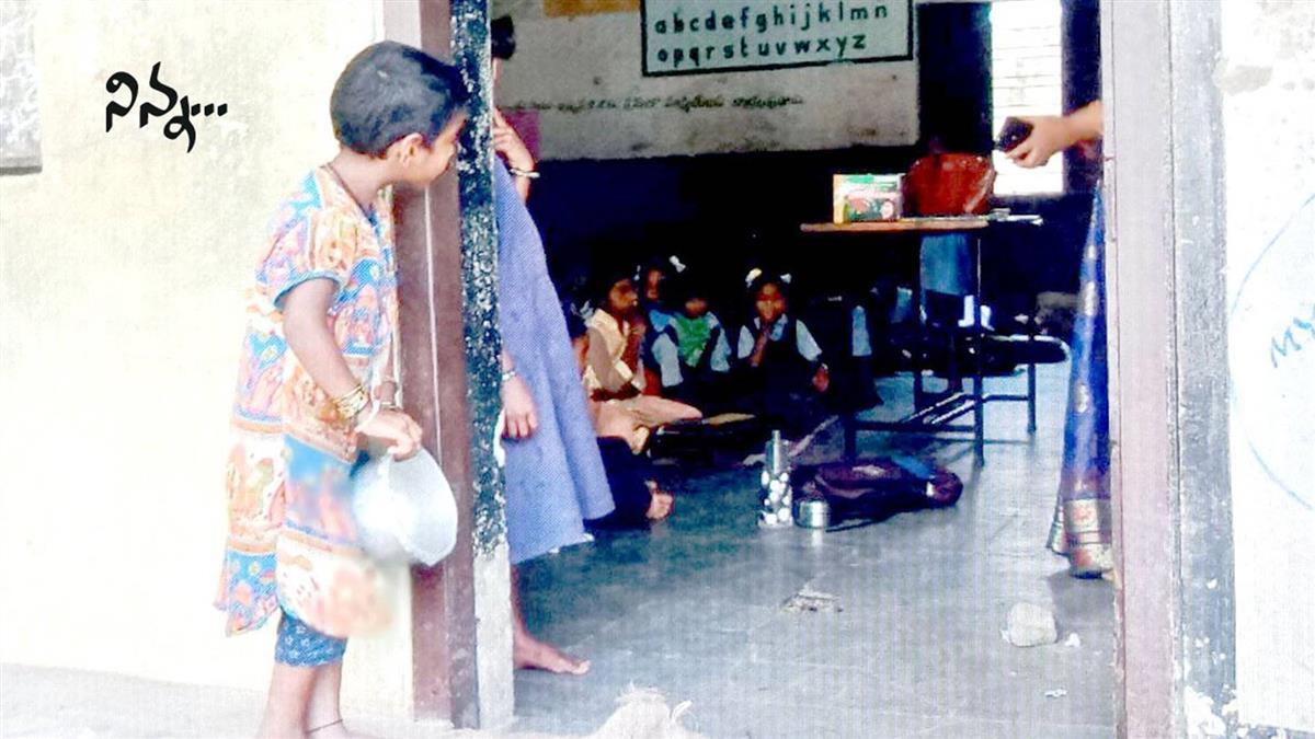 拿碗站教室外!5歲貧女等剩飯…淚獲大驚喜