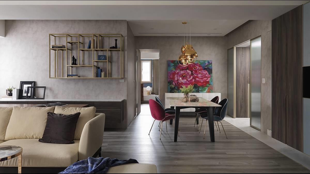 奢華享受彷彿穿梭高級Hotel!他將大同19年老屋改造成精緻飯店宅